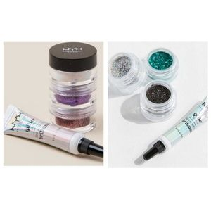 NYX Cosmetics Glitter Goal Kits Bundle